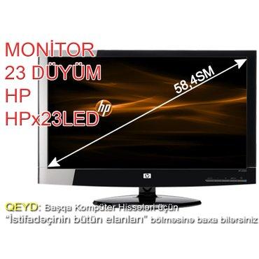 Monitor HPx23LedDiaqonal - 23 (58,4sm)Görüntü imkanı - 1920x1080 в Баку