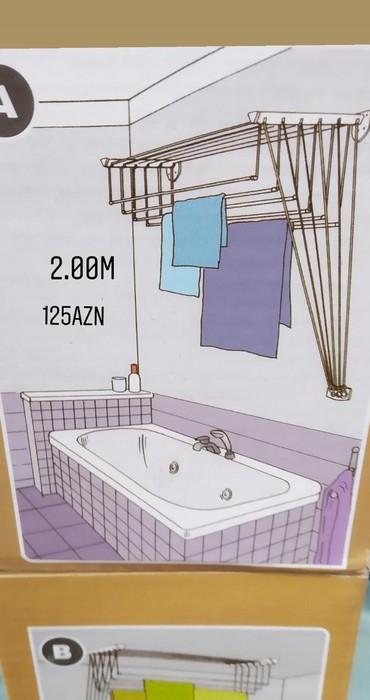 Paltar askısı - Azərbaycan: Paltar asilqani weher daxili catrilma