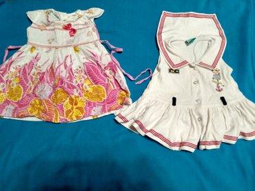 Платья на малышку с 9 мес-1 года. Любое 100 сом. в Лебединовка