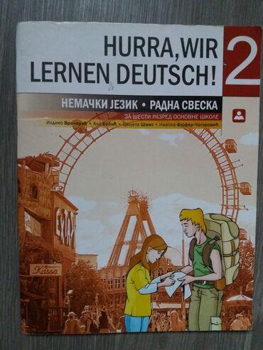 Rad u nemackoj - Srbija: Nemacki radna sveska za 6 razredZavod za udžbenike. Proslogosisnji