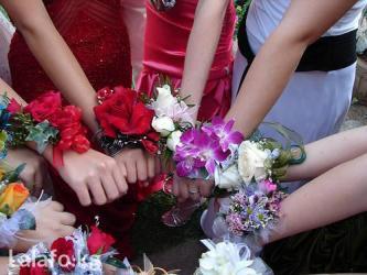 Браслеты  из живых цветов!!! Прекрасное в Бишкек