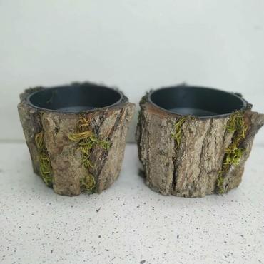 вешалка из дерева в Азербайджан: Кашпо из дерева. ( Декор) Цена: 10 азн. Онлайн доставка:WhatsApp