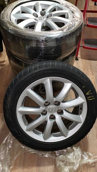 Диски + шины от Лексус лс 460 5*120 без торго срочно