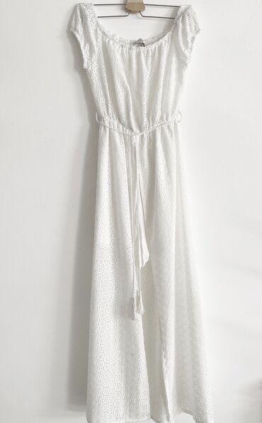 Haljine | Jagodina: Blue velvet haljina sa sortsem ispod, s-m