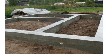 столешница под раковину в Азербайджан: Ленточный фундамент под строительство загородного дома.Ленточный
