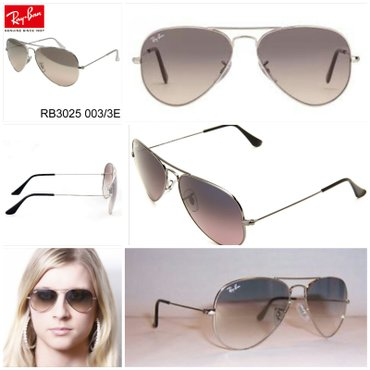 RAY BAN 3025 AVIATOR LARGE METAL 003/3E 58[]14 3N Made in - Nis