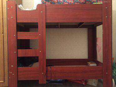 купить качалку детскую в Кыргызстан: Продаю детскую двухъярусную кровать !до 6-7 лет