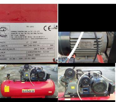 Kompresoor.16 atmosferse iwleyir.500 litlikdi.turkiye istehsali.qiymet