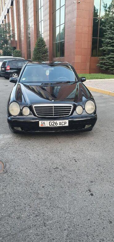 Mercedes-Benz в Кыргызстан: Mercedes-Benz E-класс AMG 3.2 л. 2001