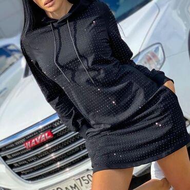 платье на повседневку в Кыргызстан: Стильное Exclusive платье Турецкого произвоизводсва. Карманы рабочие