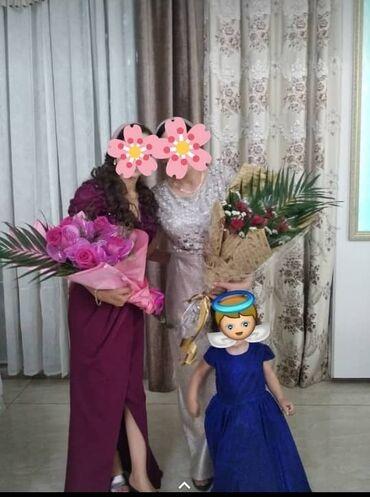 Личные вещи - Дмитриевка: Платья вечерние!!! фиолетовое 36 размер 6500сом Светло золотистое
