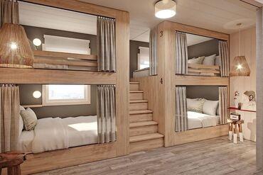 Посуточная аренда квартир - Бишкек: 5 комнат, Душевая кабина, Постельное белье, Кондиционер, Без животных