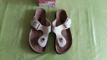 Zenske papuce Metro be. 37,polovne i ocuvane,jako malo nosene,bež boje - Petrovac na Mlavi