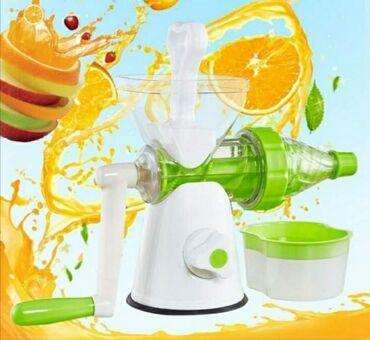 -Multifunkcionalni sokovnik za ceđenje voća i povrća-Vakumom se