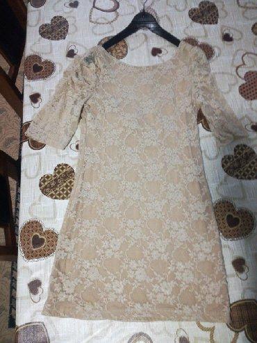 Ženska odeća | Bujanovac: Italijanska haljinica, sa postavom i čipkom, vrlo lepa, ne piše