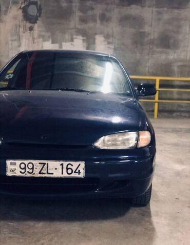 avto möhlətlə - Azərbaycan: Hyundai Accent 1.5 l. 1995   365290 km
