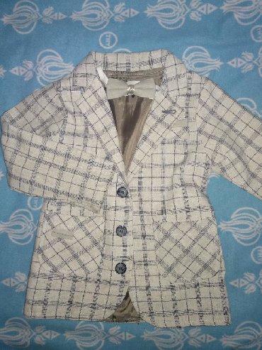( Рубашка+жилетка+ пиджак+бабочка+брюки+ремень) на мальчика 5-6 лет