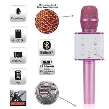 Mikrofonlar Azərbaycanda: Bluetooth Karaoki Mikrafon