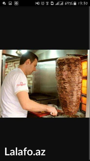 Bakı şəhərində Dönerçi kömekçisi teleb olunur teecili maaş artacax gece günüz