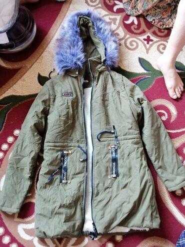 Продаю срочно новая куртка для зима женский зелёного размер XXL