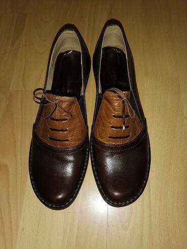 Prodajem NOVE KOŽNE ženske cipele. Broj 39