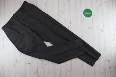 Мужская одежда - Украина: Чоловічі класичні штани Uniqlo, p. M    Довжина: 99 см Довжина кроку