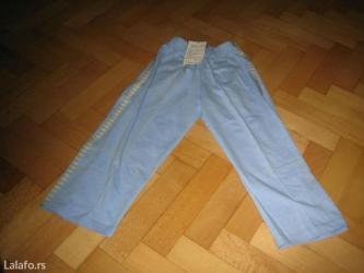 Dečija odeća i obuća - Barajevo: Nove pamucne trenerke vel 2,4,2 300din nove bermude vel 2,4,6,8,u boji