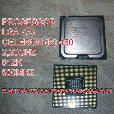 Bakı şəhərində Prosessor (CPU) Celeron (R) 450