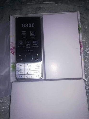 Mobilni telefoni - Sjenica: Boja CRNA I SIVA Mobilni telefon NOKIA 6300 Dual SIMCENA 2300 din