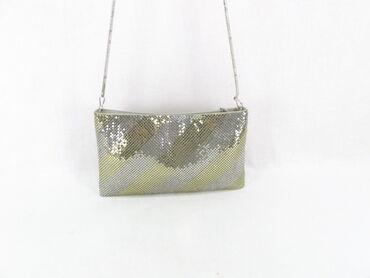 Bez torbica - Srbija: Vintage metalna mesh torbicaMaterijal MetalZemlja porekla Kina(made in