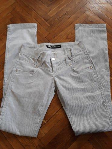 Bele pantalone, velicina 36. Apsolutno kao nove, samo jednom nosene. - Belgrade