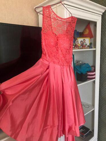 Продаю розовое вечернее платье, размер 42-44, можно одеть на той, день