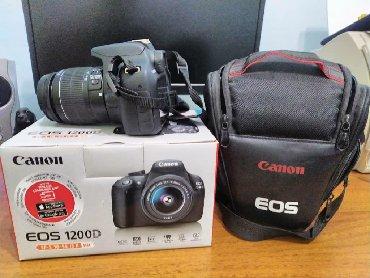 фотоаппаратов в Кыргызстан: Продаю Canon 1200D kit 18-55с коробкой + сумка + флешка 32гбпокупали