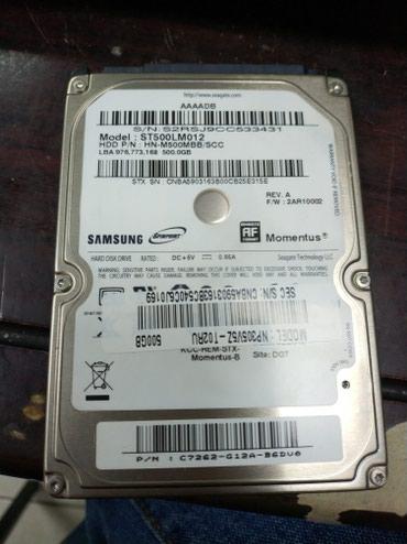 жесткие диски hdd для непрерывного доступа корпоративные в Кыргызстан: Жёсткий диск для ноутбука 500гб здоровый