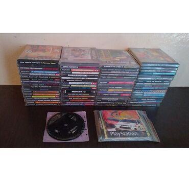 Коллекция дисков PS1, PSOne. Сами консоли и разная мелочь.Диски 120