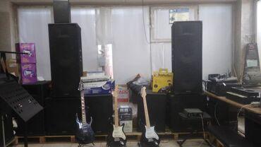 Профессиональное музыкальное оборудование/ инструменты /