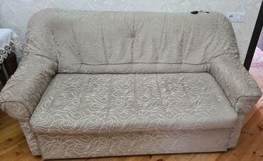 2117 elan | DIVANLAR: 1 divan və 2 kreslo satılırDivan bazalıdır, açılır və sandığı