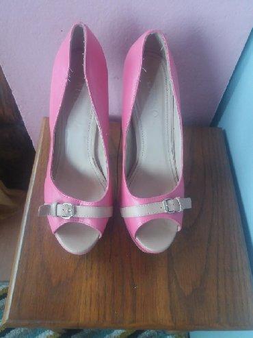 Ženska obuća | Bela Crkva: Roze sandale na stiklu. 39 broj. novee