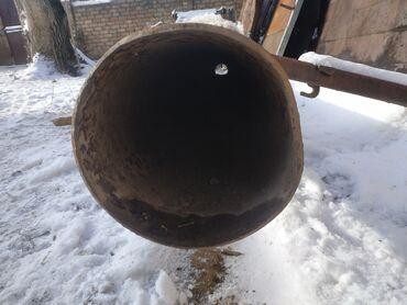 Ремонт и строительство - Кемин: Продаю трубы размеры 1,2 фото около 6 метров диаметр около 25-30