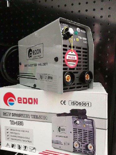 svarka aparati satilir в Азербайджан: Svarka aparati Edon yeni keyfiyyətli 250am 2.3. elektrod isledir bes
