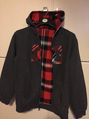 DC καινούργιο παιδικό hoodie που φοριεται και από τις 2 μεριές . Ζεστό