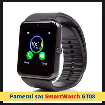 Rad preko interneta - Srbija: ⚠⚠Pametni sat SmartWatch GT08 Samo 2300 din! Može da radi i
