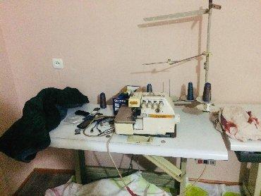 швейные машинки прямо строчки в Кыргызстан: Продаётся швейные машинки 5нитка и прямой строчка без жумный матор 5ни
