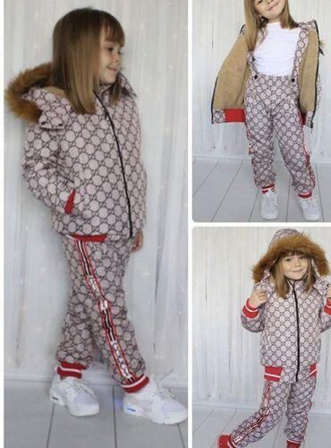 Верхняя одежда в Кыргызстан: Продаю новые зимние комбинезоны для девочек размер