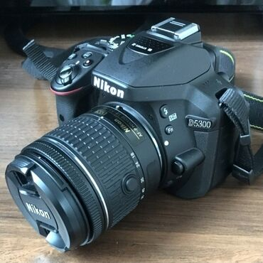 Продаётся фотоаппарат nikon d5300 с объективом nikon 18-55. Аппарат в