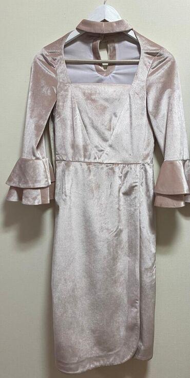 вечерне коктейльное платье в Кыргызстан: Оригинальное, вечернее, коктейльное платье. Платье сшито из французско
