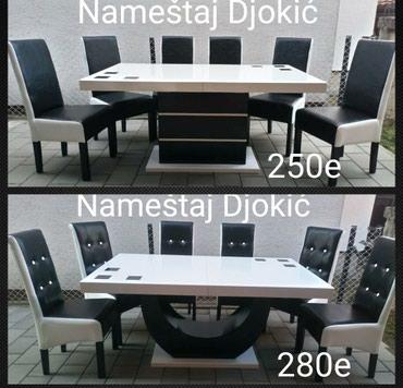 Zvezdara stolovi se rade i po meri i boja moze i druga. tel. - Belgrade