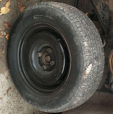 шины 13 радиус бу в Кыргызстан: Продаю или меняю диски от Гольфа 2 R13. на обычные диски . В хорошем