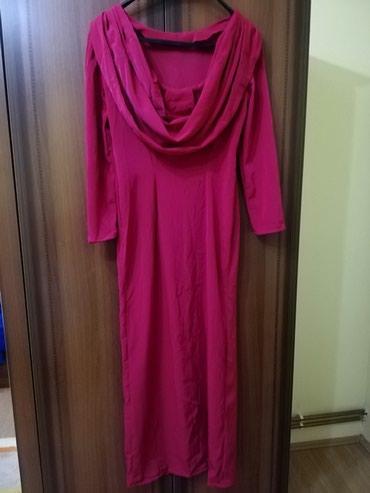 Roze haljina sa volanom na ledjima i slicem napred.. Sivena odgovara - Lajkovac