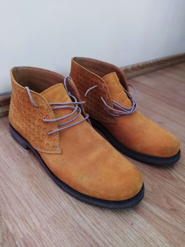 Antilop - Srbija: Kožne tamno oker (žute) duboke cipele (br.38). Prodajem duboke antilop